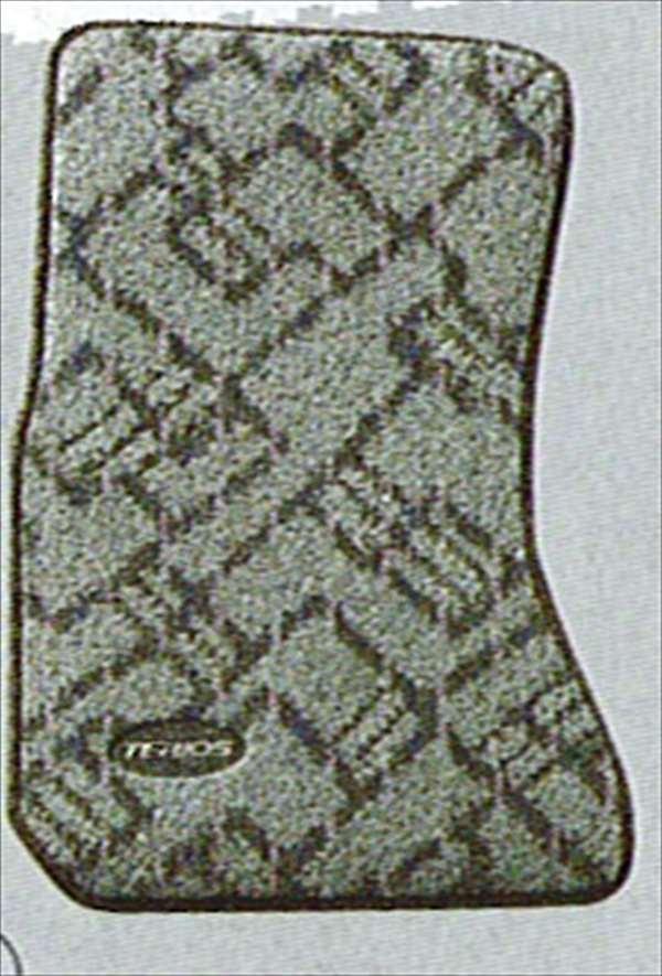 『テリオス』 純正 J131 カーペットマット(クロスライン) パーツ ダイハツ純正部品 フロアカーペット カーマット カーペットマット terios オプション アクセサリー 用品