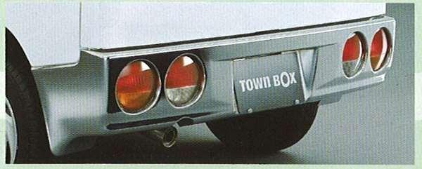 『タウンボックス』 純正 U61W リヤバンパー パーツ 三菱純正部品 TOWNBOX オプション アクセサリー 用品