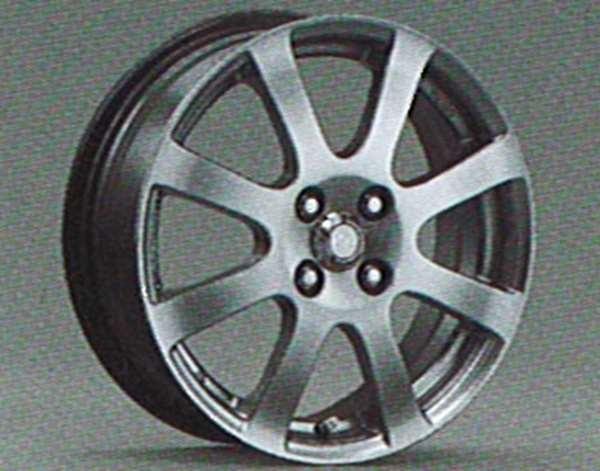 vits019-1 『ヴィッツ』 純正 SCP90 アルミホイール 1本のみ スタンダード(16インチ) パーツ トヨタ純正部品 vitz オプション アクセサリー 用品