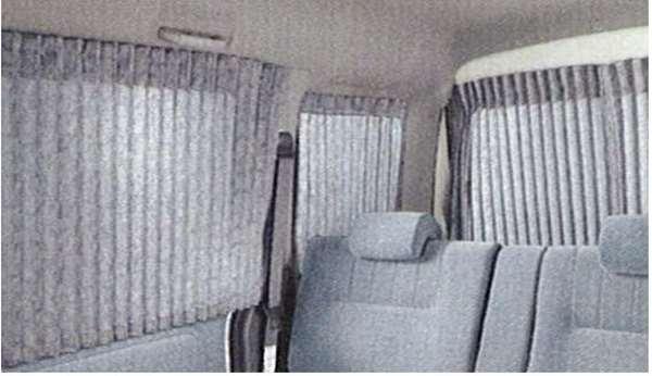 『アトレー』 純正 S320G セパレーターカーテン(プリーツA) パーツ ダイハツ純正部品 室内カーテン 目隠し 日除け atrai オプション アクセサリー 用品