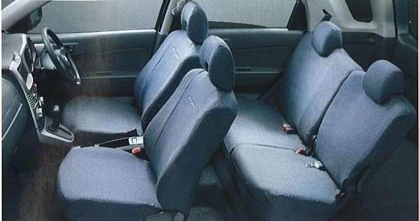 『ビーゴ』 純正 J200 撥水加工シートカバー(1台分) パーツ ダイハツ純正部品 座席カバー 汚れ シート保護 be-go オプション アクセサリー 用品