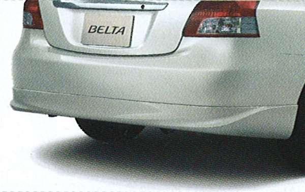 『ベルタ』 純正 SCP92 リヤスポイラー G用 パーツ トヨタ純正部品 ルーフスポイラー リアスポイラー belta オプション アクセサリー 用品