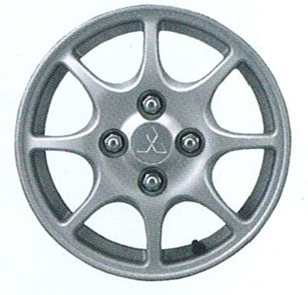 『ミニカ』 純正 H42V H47V アルミホイール 1本のみ (8本スポーク) パーツ 三菱純正部品 安心の純正品 MINICA オプション アクセサリー 用品