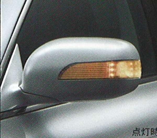 クラウン カバー toyota 18系 ウインカー LED ウィンカー ロイヤル トヨタ 062 白塗装済 アスリート ゼロクラウン /[ウィンカー ドアミラー ドア ミラー 交換 車用品 カー用品 カスタム カスタマイズ パーツ 部品 led ウインカー diy/] ドアミラー