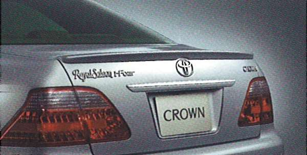『クラウンロイヤル』 純正 GRS180 GRS182 リヤスポイラー パーツ トヨタ純正部品 crown オプション アクセサリー 用品