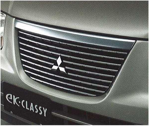 『ekクラッシ』 純正 H81 メッキグリル パーツ 三菱純正部品 オプション アクセサリー 用品