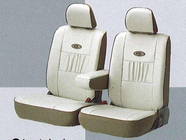 『ekスポーツ』 純正 H81 シートカバー(本革調ホワイト) パーツ 三菱純正部品 座席カバー 汚れ シート保護 オプション アクセサリー 用品