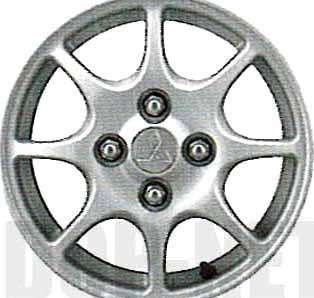 ekw36 『ekワゴン』 純正 H81 アルミホイール 1本のみ パーツ 三菱純正部品 安心の純正品 オプション アクセサリー 用品