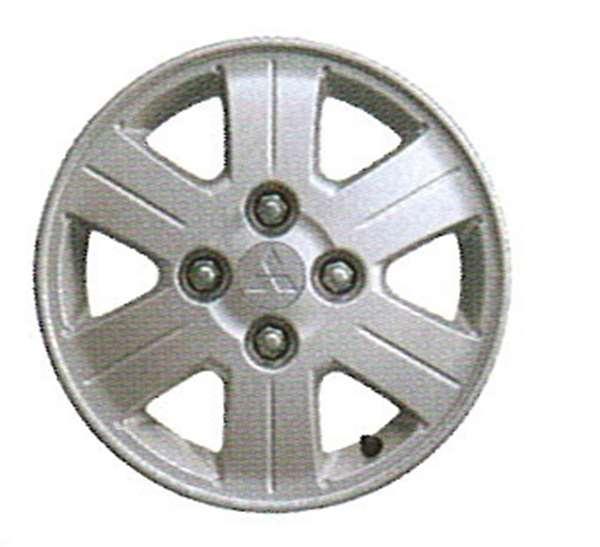 『ekワゴン』 純正 H81 アルミホイール 1本のみ パーツ 三菱純正部品 安心の純正品 オプション アクセサリー 用品