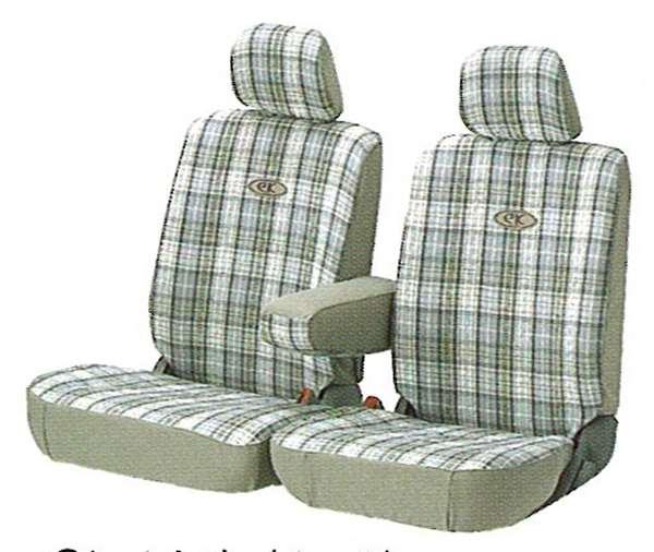 『ekワゴン』 純正 H81 シートカバー(チェック) パーツ 三菱純正部品 座席カバー 汚れ シート保護 オプション アクセサリー 用品