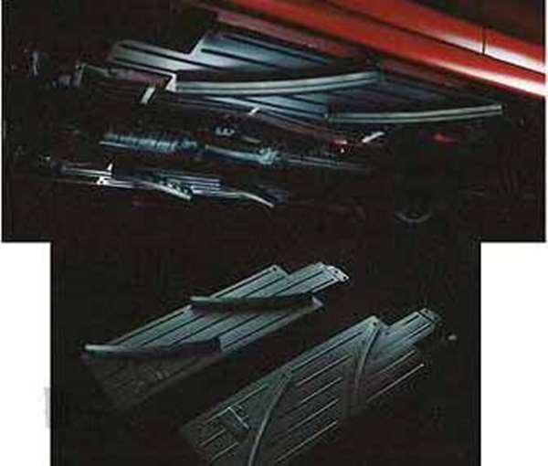 lex001 『ランサーエボリューションX』 純正 CZ4A フロアエアガイド パーツ 三菱純正部品 LANCER オプション アクセサリー 用品