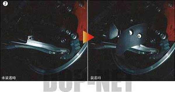 lex008 『ランサーエボリューションX』 純正 CZ4A ブレーキ冷却導風板 パーツ 三菱純正部品 LANCER オプション アクセサリー 用品
