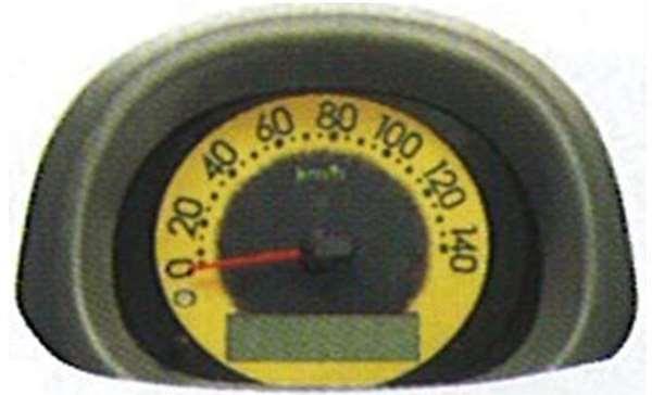 『エッセ』 純正 L235 カラフルメーター パーツ ダイハツ純正部品 esse オプション アクセサリー 用品