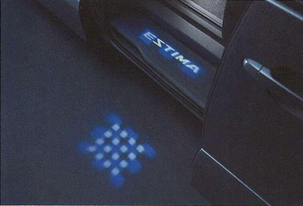 『エスティマ』 純正 ACR50 ステップイルミネーション パーツ トヨタ純正部品 estima オプション アクセサリー 用品