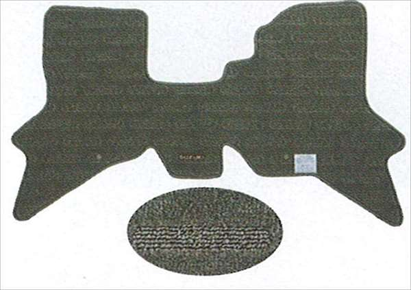 『エブリイ』 純正 DA64 フロアマット・ジュータン(ティンバー) パーツ スズキ純正部品 フロアカーペット カーマット カーペットマット every オプション アクセサリー 用品