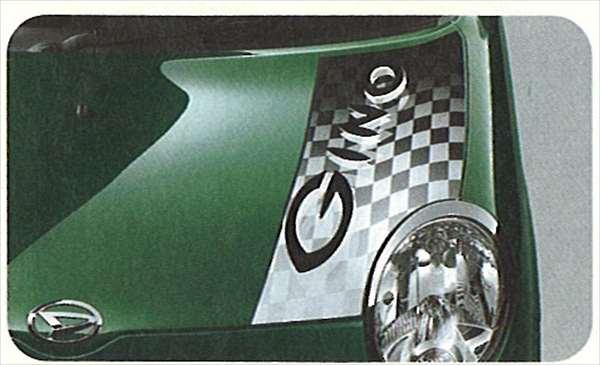 『ジーノ』 純正 L650 ボンネットストライプ パーツ ダイハツ純正部品 miragino オプション アクセサリー 用品
