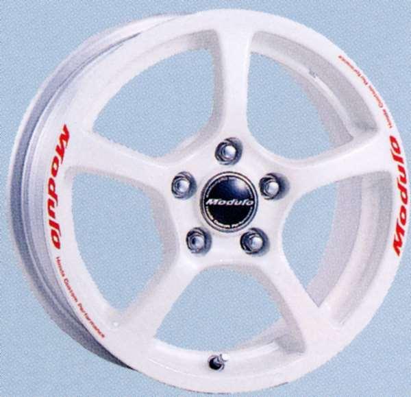 『HR-V』 純正 GH3 アルミホイール 1本のみ (ユーロスポークR5 (ホワイトダイアモンド・パール塗装×ステッカー) パーツ ホンダ純正部品 シール デカール ワンポイント オプション アクセサリー 用品