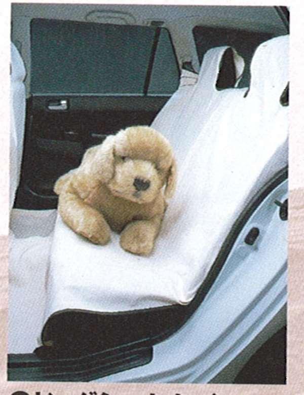 『ランサーワゴン』 純正 CS2 CS5 ドッグシートカバー(後席用) パーツ 三菱純正部品 座席カバー 汚れ シート保護 LANCER オプション アクセサリー 用品