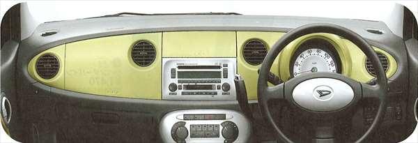 『ムーヴラテ』 純正 L550 パネルセット(インパネクラスター+メータークラスター) パーツ ダイハツ純正部品 ウッド movelatte オプション アクセサリー 用品