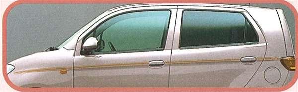『MAX』 純正 L950 ストライプ アラベスク パーツ ダイハツ純正部品 メッキ オプション アクセサリー 用品