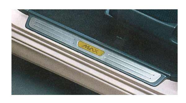『MAX』 純正 L950 スカッフプレート パーツ ダイハツ純正部品 ステップ 保護 プレート オプション アクセサリー 用品