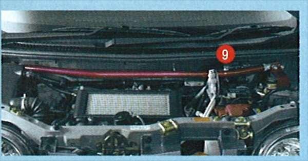 『ムーヴ』 純正 L150 パフォーマンスロッド パーツ ダイハツ純正部品 move オプション アクセサリー 用品