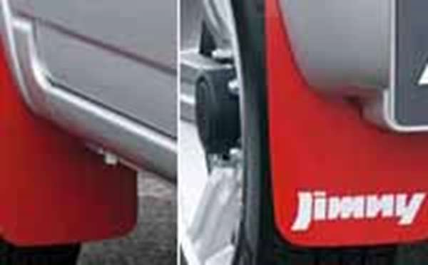 オプション jimny マッドフラップ ジムニー JB23 スズキ純正 パーツ 部品 5型用