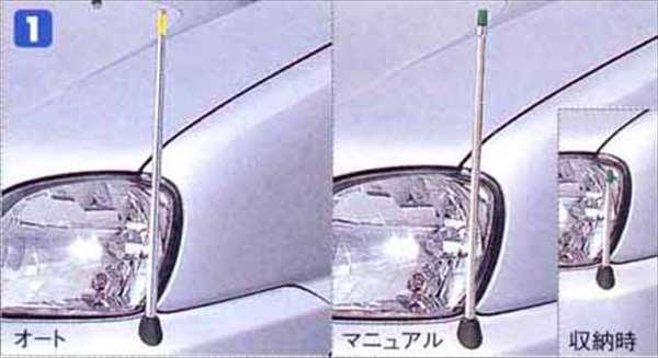 大人気 プレオ 純正 RA1 RA2 フェンダーコントロール 日本正規代理店品 オート ノーマルバンパー用 パーツ フェンダーライト フェンダーランプ スバル純正部品 アクセサリー 用品 オプション PLEO フェンダーポール