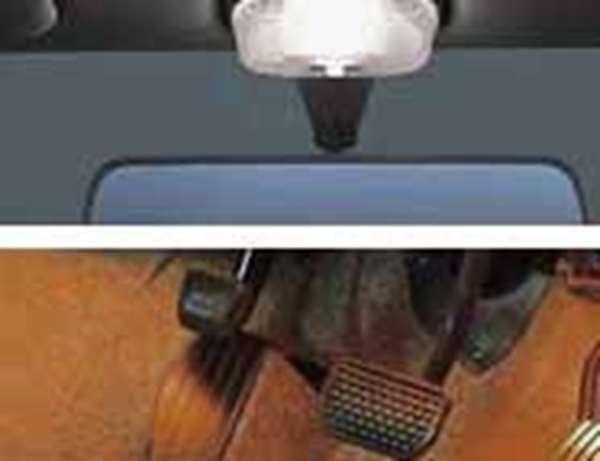 『MRワゴン』 純正 MF21S フットランプ付残照式ルームランプ+フットランプ(助手席用アタッチメント) パーツ スズキ純正部品 mrwagon オプション アクセサリー 用品