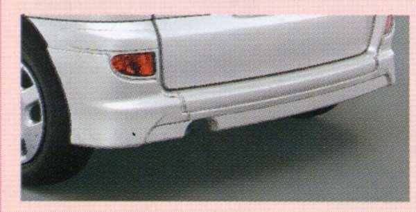 『ファンカーゴ』 純正 NCP20 リヤバンパースポイラー 大型 パーツ トヨタ純正部品 リアスポイラー リヤスポイラー エアロパーツ funcargo オプション アクセサリー 用品