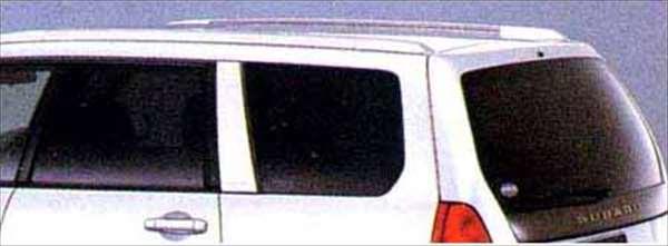 『フォレスター』 純正 SG5 スモークスクリーンキット(ダーク) パーツ スバル純正部品 Forester オプション アクセサリー 用品
