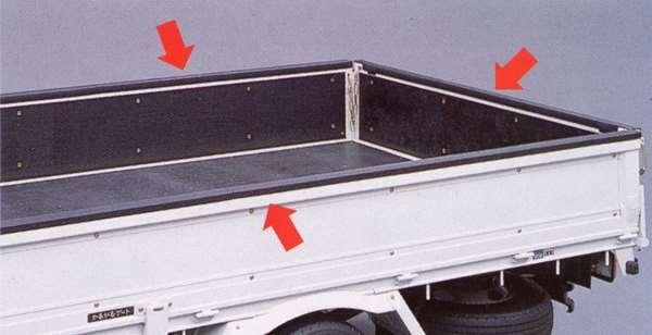 toy007-1 『トヨエース』 純正 KDY220 ゲートプロテクター(タイプ1) パーツ トヨタ純正部品 荷台モール アオリ toyoace オプション アクセサリー 用品