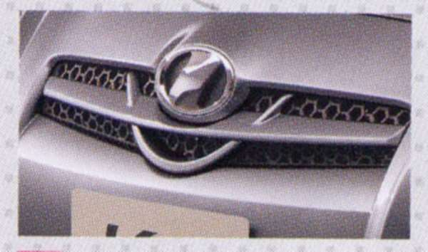 『ヴィッツ』 純正 SCP90 スポーツグリル パーツ トヨタ純正部品 vitz オプション アクセサリー 用品