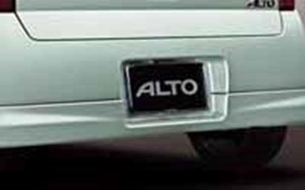 『アルト』 純正 HA24S リヤアンダースポイラー パーツ スズキ純正部品 リアスポイラー カスタム エアロ alto オプション アクセサリー 用品