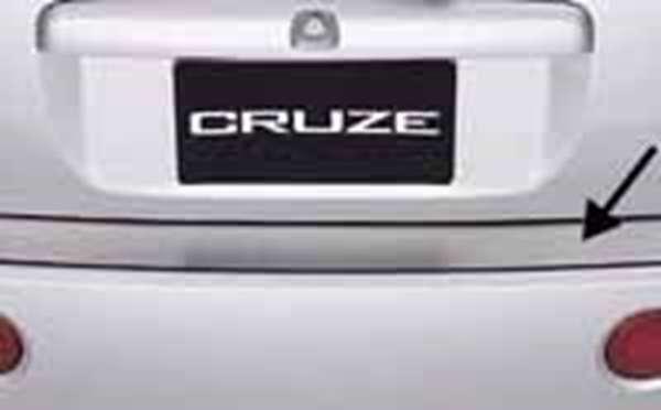 リヤバンパープレート シボレークルーズ HR52S スズキ純正 ChevroletCruze パーツ 部品 オプション