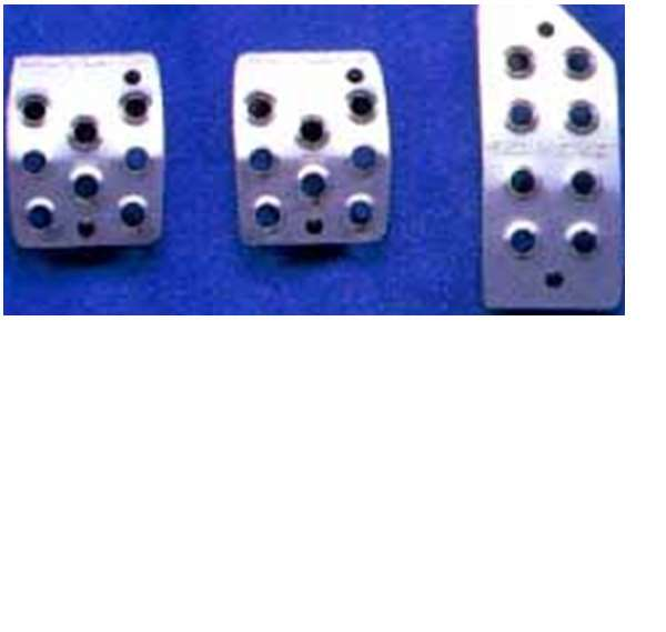 『エブリイ』 純正 DA52 DB52 アルミペダルセット パーツ スズキ純正部品 アクセルペダル ブレーキペダル every オプション アクセサリー 用品