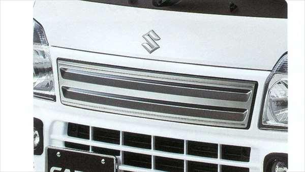 『キャリイ』 純正 DA16T フロントメッキガーニッシュ パーツ スズキ純正部品 メッキ メッキグリル carry オプション アクセサリー 用品