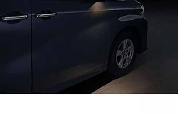 『アルファード』 純正 GGH30W ウェルカムライト D・P席 パーツ トヨタ純正部品 イルミネーション 明かり 照明 alphard オプション アクセサリー 用品