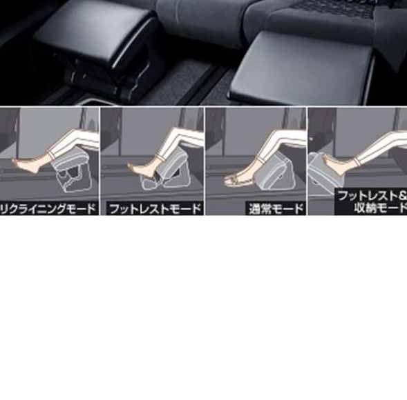 『アルファード』 純正 GGH30W オットマン パーツ トヨタ純正部品 alphard オプション アクセサリー 用品