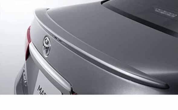 『マークX』 純正 GRX133 GRX130 GRX135 リヤスポイラー パーツ トヨタ純正部品 markx オプション アクセサリー 用品