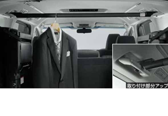 『アルファード』 純正 GGH30W ハンガーパイプ 横型 パーツ トヨタ純正部品 alphard オプション アクセサリー 用品