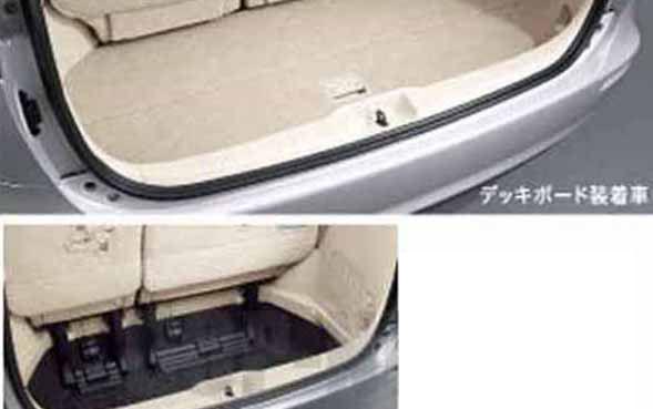 opol025-1 『エスティマハイブリッド』 純正 AHR20 デッキボード サードシート電動格納(MOP)付車 パーツ トヨタ純正部品 estima オプション アクセサリー 用品