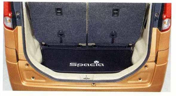 『スペーシア』 純正 MK32S ラゲッジマット(ソフトトレー) パーツ スズキ純正部品 ラゲージマット 荷室マット 滑り止め spacia オプション アクセサリー 用品