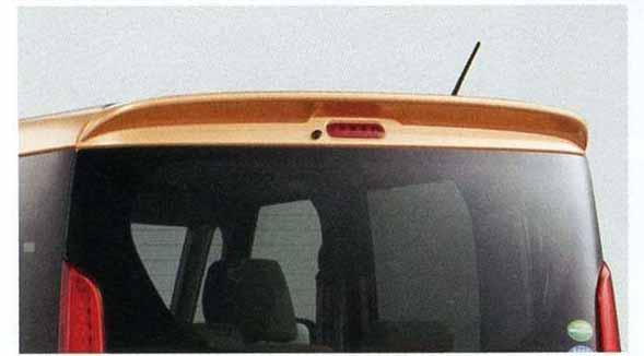 『スペーシア』 純正 MK32S ルーフエンドスポイラー パーツ スズキ純正部品 ルーフスポイラー リアスポイラー spacia オプション アクセサリー 用品