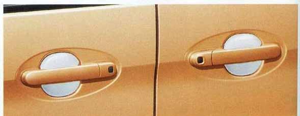 ドアハンドルエスカッション スペーシア MK32S