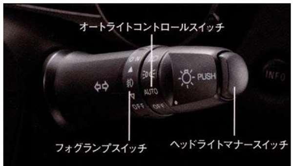 ヘッドライトマナースイッチ アウトランダー GG2W