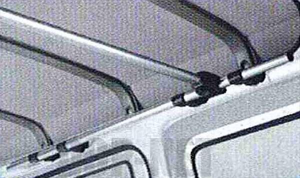 クロスシステムバー(アッパーシステムレール用)(ハイルーフ車専用)(1本) ハイゼットカーゴ S321 S331
