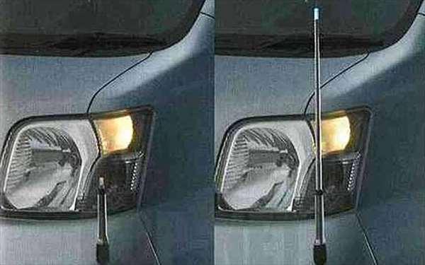 【ハイゼットカーゴ】純正 S321 S331 コーナーコントロール(手動格納式) パーツ ダイハツ純正部品 フェンダーポール フェンダーライト hijetcargo オプション アクセサリー 用品