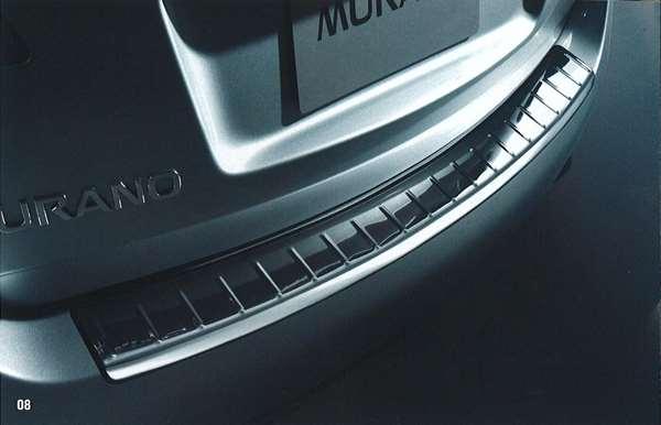 『ムラーノ』 純正 PNZ51 TNZ51 リヤバンパープロテクター(ステンレス製) TJMT0 パーツ 日産純正部品 murano オプション アクセサリー 用品