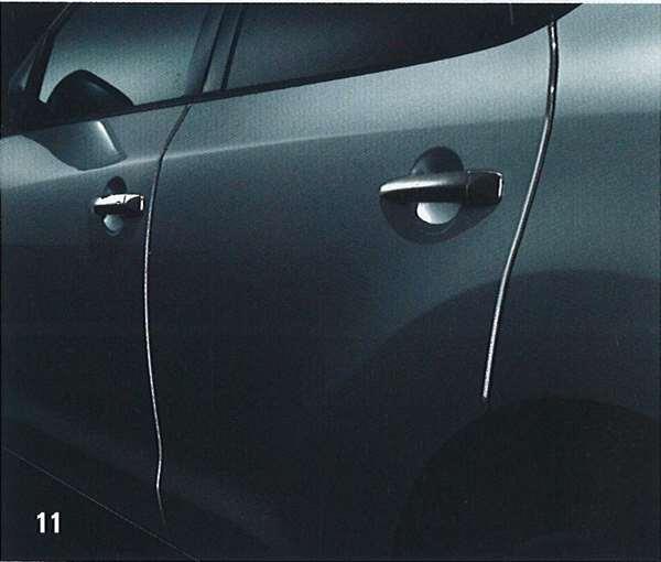 『ムラーノ』 純正 PNZ51 TNZ51 ドアエッジモール(樹脂製:1台分) TJMN0 パーツ 日産純正部品 ドアモール 保護 ワンポイント murano オプション アクセサリー 用品